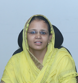 Ms. S.M. Nilofer Fathima <strong>Director - Administration</strong>