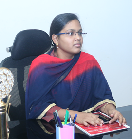 Ms. S. M. Nazia Fathima <strong>Director - Research</strong>